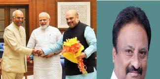 TRS MP's statement on NDA presidential candidate Ram Nath Kovind