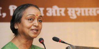 bihar cm nithish against to upa president candidet meera kumari