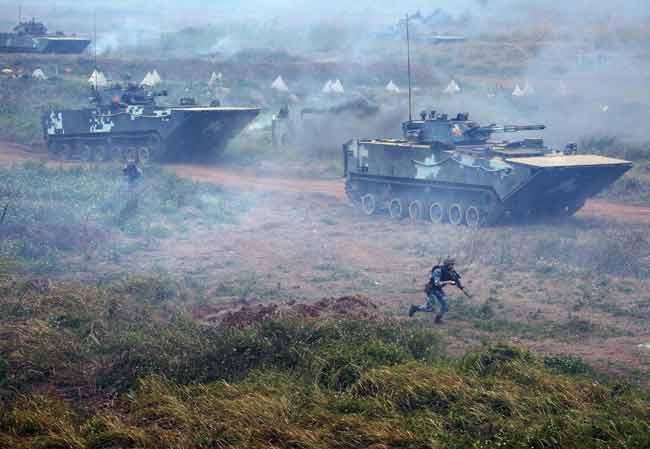 China's Three-Dimensional War Strategy