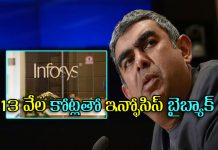 infosys company announced shares buyback