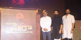 rajamouli launch chiru sye raa Narasimha reddy movie title logo