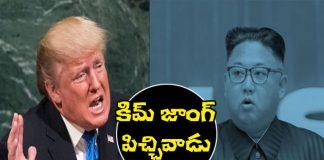 Donald trump says Kim Jong-un is a madman