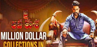 Jr NTR Jai Lava Kusa Became The Million Dollar In Overseas