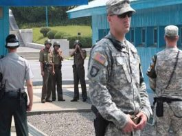 Tensions in US and North Korea Border