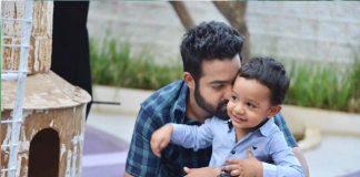junior-ntr-talks-with-her-son-abhay-ram