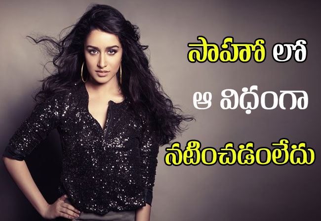shraddha kapoor comments on saaho movie double role
