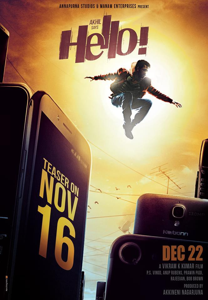 Akhil Hello Movie teaser poster