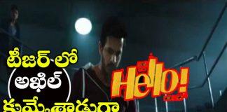 akhil hello movie teaser
