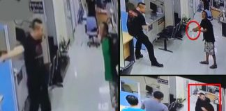 Police Officer Calms Man With Knife By Hugging Him