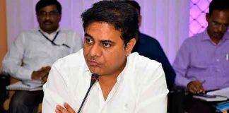 Telangana Minister KTR Serious On Economic Times For Negative News