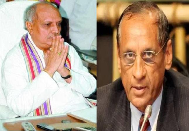 governor narasimhan angry on IYR Krishna rao