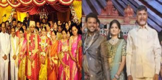 kcr not attends ram mohan naidu marriage and chandrababu not attends etela son marriage