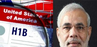 modi will speak about H1B Visas with donald trump in US Tour