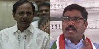 CM KCR Counter Attack To Congress MLA Sampath In Telangana