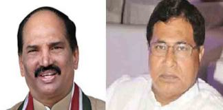 Congress Party Cadre Fires on Uttam Kumar Reddy & Jana Reddy