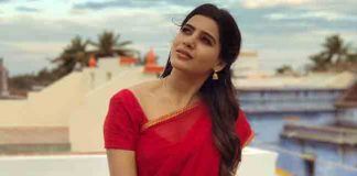 Samantha New Look In Half Saree