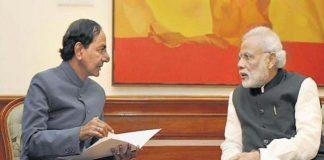 The BJP is afraid of KCR