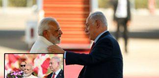 israeli PM Benjamin Netanyahu Giving big honor to PM Modi