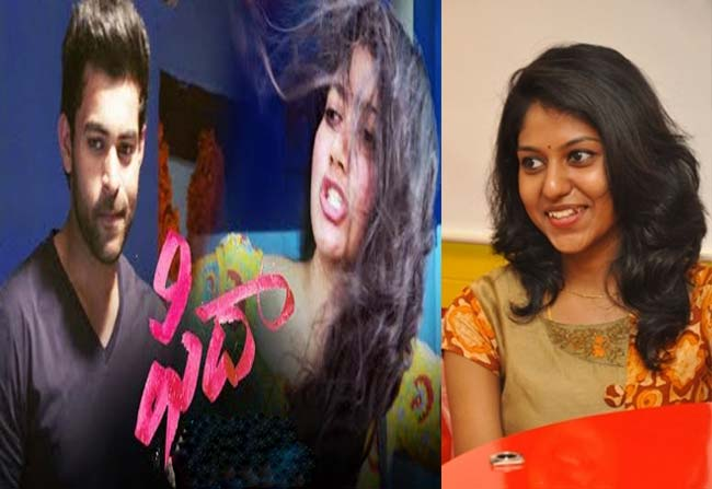 madhu priya sings a song in varun tej fidaa movie