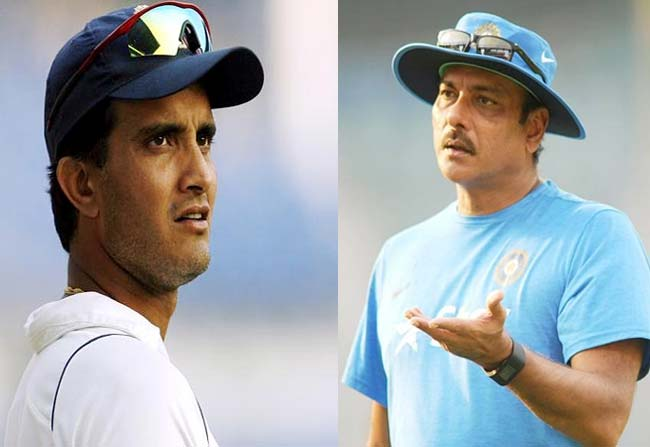 sourave ganguli failed in restricting ravi shastri appointing bowling coatch