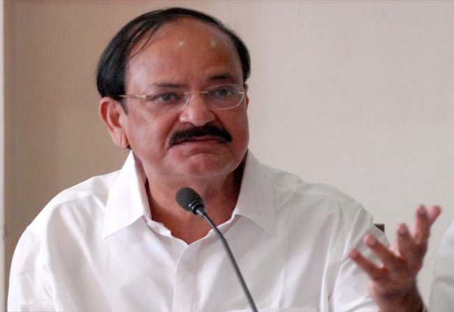 Union Minister Venkaiah Naidu in Vice President Race Here