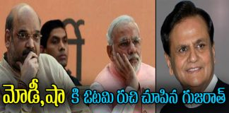 congress leader ahmed patel win in rajya sabha elections in gujarat