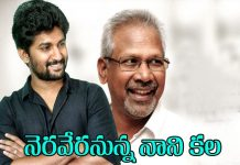 Actor Nani Full Filling Is Dream By Acting With Mani Ratnam