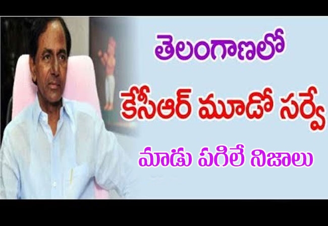 CM KCR Shocked With His TRS Survey For 2019 Election In Telangana