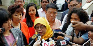 Halimah Yacob Elected Singapore First Woman President
