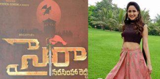 Pragya Jaiswal In Chiranjeevi Sye Raa Narasimha Reddy Movie