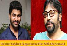arjun-reddy-director-sandeep-reddy-next-hero-sharwanand