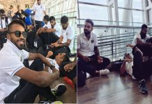 ms-dhoni-relaxes-on-chennai-airport-floor