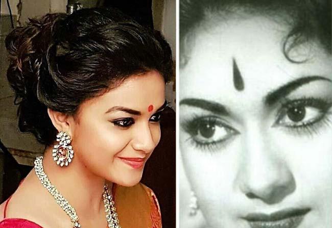 keerthy suresh clarifies on mahanati first look