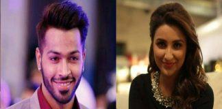 love affair rumours on Hardik Pandya heroine Parineeti Chopra.