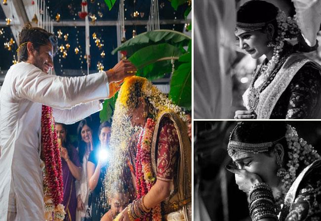 Samantha cry while naga chaitanya tie the knot