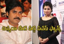 pawan fans targeting singer chinmayi on renu desai fb post issue