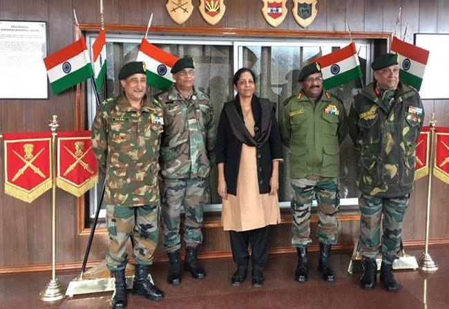 Raksha Mantri Nirmala Seetharaman