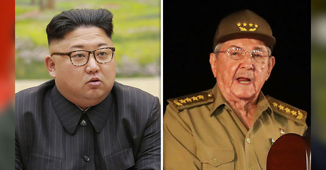 cuba support to North korea kim Jong un want to war on trump