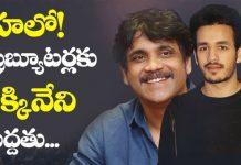Nagarjuna says about Akhil 3rd movie distributors