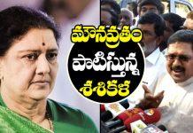 Sasikala on a 'vow of silence' in Jail says Dinakaran