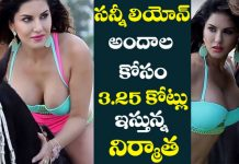 Sunny Leone takes Big Remuneration for tamil Debut