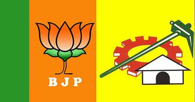 bjp and tdp alliance in suspense for 2019 elections