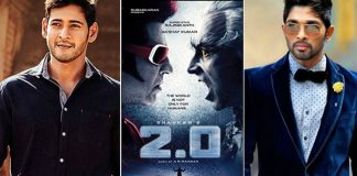 mahesh and allu arjun competing with rajinikanth 2.0 movie