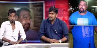 Kathi Mahesh attackers appear before media over pawan kalyan Fans