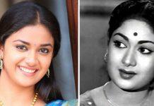 Keerthi Suresh as Savithri really becomes Savithri!