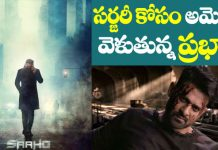 Prabhas breaks Saaho movie Shooting for Surgery
