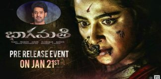 Prabhas to attends Bhagamathi Pre-release Event