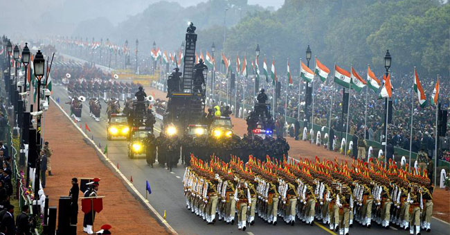 Republic day in India is celebrated every year