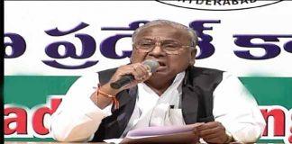 V Hanumantha Rao Sensational Comments on Narasimhan