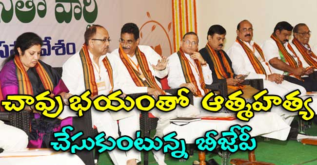 BJP Ministers wants to resign as Ministers in AP Cabinet